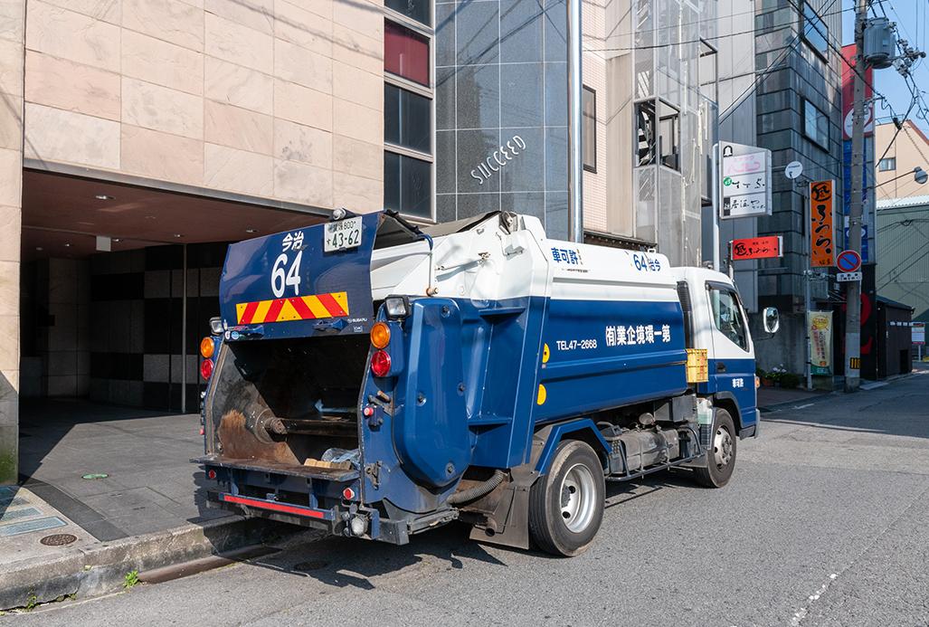 ゴミの定期回収